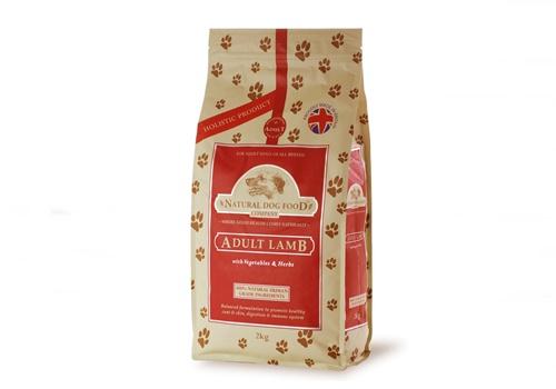 アランズナチュラルドッグフードのパッケージ画像