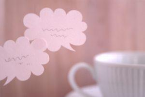 コーヒーとトークの画像