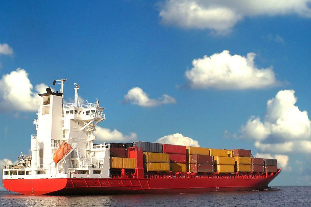 貨物船の画像