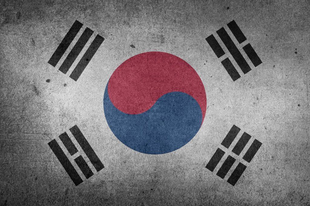韓国国旗の画像